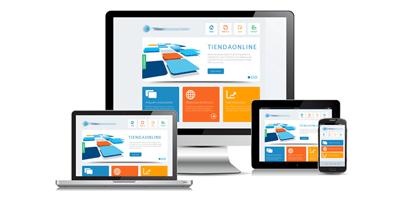 Tienda online responsive diseño para móvil